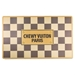 Checkered Chewy Vuiton Placemat   - hdd-checkmat