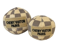 Checkered Chewy Vuiton Plush Ball Pet Toy   dog bowls,susan lanci, puppia,wooflink, luxury dog boutique,tonimari,pet clothes, dog clothes, puppy clothes, pet store, dog store, puppy boutique store, dog boutique, pet boutique, puppy boutique, Bloomingtails, dog, small dog clothes, large dog clothes, large dog costumes, small dog costumes, pet stuff, Halloween dog, puppy Halloween, pet Halloween, clothes, dog puppy Halloween, dog sale, pet sale, puppy sale, pet dog tank, pet tank, pet shirt, dog shirt, puppy shirt,puppy tank, I see spot, dog collars, dog leads, pet collar, pet lead,puppy collar, puppy lead, dog toys, pet toys, puppy toy, dog beds, pet beds, puppy bed,  beds,dog mat, pet mat, puppy mat, fab dog pet sweater, dog sweater, dog winter, pet winter,dog raincoat, pet raincoat