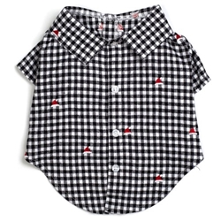 Checkered Santa Hats Dog Shirt wooflink, susan lanci, dog clothes, small dog clothes, urban pup, pooch outfitters, dogo, hip doggie, doggie design, small dog dress, pet clotes, dog boutique. pet boutique, bloomingtails dog boutique, dog raincoat, dog rain coat, pet raincoat, dog shampoo, pet shampoo, dog bathrobe, pet bathrobe, dog carrier, small dog carrier, doggie couture, pet couture, dog football, dog toys, pet toys, dog clothes sale, pet clothes sale, shop local, pet store, dog store, dog chews, pet chews, worthy dog, dog bandana, pet bandana, dog halloween, pet halloween, dog holiday, pet holiday, dog teepee, custom dog clothes, pet pjs, dog pjs, pet pajamas, dog pajamas,dog sweater, pet sweater, dog hat, fabdog, fab dog, dog puffer coat, dog winter jacket, dog col