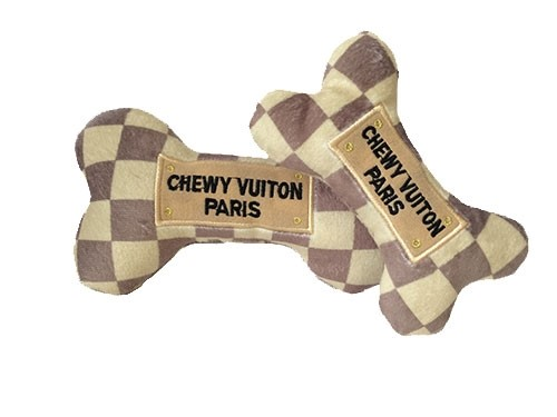 Chewy Vuiton Checker Bone Pet Toy  dog bowls,susan lanci, puppia,wooflink, luxury dog boutique,tonimari,pet clothes, dog clothes, puppy clothes, pet store, dog store, puppy boutique store, dog boutique, pet boutique, puppy boutique, Bloomingtails, dog, small dog clothes, large dog clothes, large dog costumes, small dog costumes, pet stuff, Halloween dog, puppy Halloween, pet Halloween, clothes, dog puppy Halloween, dog sale, pet sale, puppy sale, pet dog tank, pet tank, pet shirt, dog shirt, puppy shirt,puppy tank, I see spot, dog collars, dog leads, pet collar, pet lead,puppy collar, puppy lead, dog toys, pet toys, puppy toy, dog beds, pet beds, puppy bed,  beds,dog mat, pet mat, puppy mat, fab dog pet sweater, dog sweater, dog winter, pet winter,dog raincoat, pet raincoat