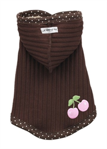 Chocolate Cherry Reversible Hooded Sweater - hip-chocheryS-P3N