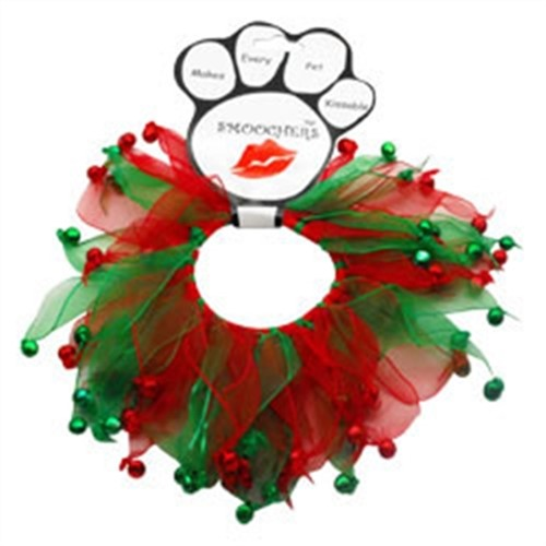 Christmas Bells Smoochers Party Collar