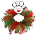 Christmas Bones Smoothers Party Collar  - mir-bones-partyM-2JM