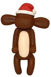 Christmas Jungle Balloon Monkey Squeaker Toy