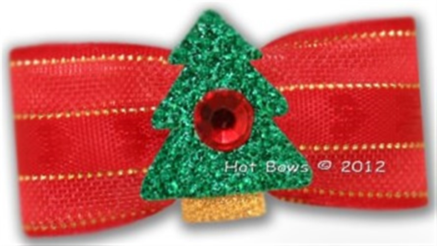 Christmas Love Dog Bow - hb-love-bow