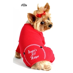 "Christmas Red ""Santas Lil Helper"" Embroidered Pajamas  puppy bed,  beds,dog mat, pet mat, puppy mat, fab dog pet sweater, dog swepet clothes, dog clothes, puppy clothes, pet store, dog store, puppy boutique store, dog boutique, pet boutique, puppy boutique, Bloomingtails, dog, small dog clothes, large dog clothes, large dog costumes, small dog costumes, pet stuff, Halloween dog, puppy Halloween, pet Halloween, clothes, dog puppy Halloween, dog sale, pet sale, puppy sale, pet dog tank, pet tank, pet shirt, dog shirt, puppy shirt,puppy tank, I see spot, dog collars, dog leads, pet collar, pet lead,puppy collar, puppy lead, dog toys, pet toys, puppy toy, dog beds, pet beds, puppy bed,  beds,dog mat, pet mat, puppy mat, fab dog pet sweater, dog sweater, dog winter, pet winter,dog raincoat, pet"