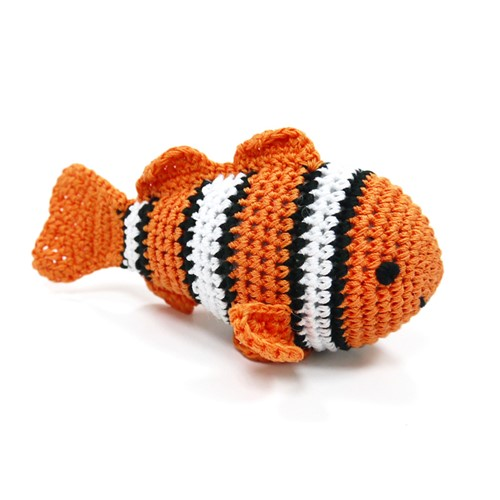 Clownfish Squeaky Toy   - dogo-clownfish