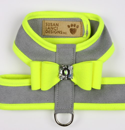 Contrasting Color Tinkie Dog Harness by Susan Lanci in Many Colors - sl-tinkiecontrast