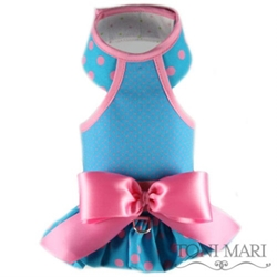 Cotton Candy Dogs Ruffled Harness Vest