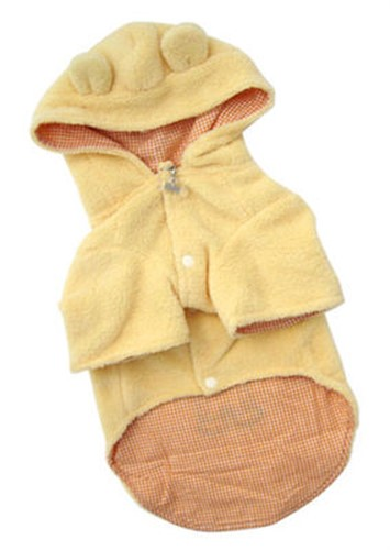 Country Bear Plush Dog Jacket - klip-bear-jacket