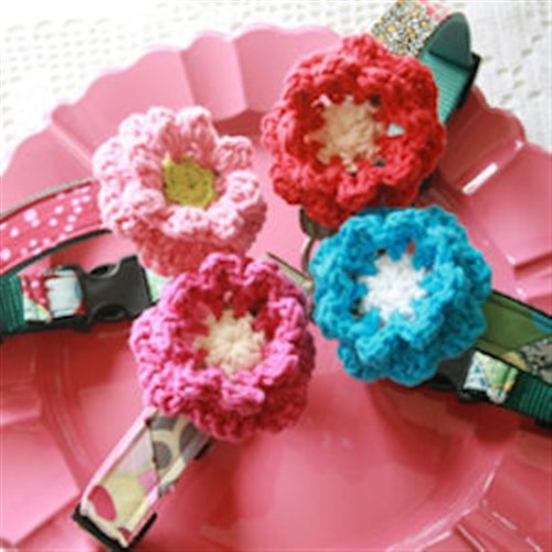 Crochet Flower Collar Accessories