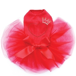 Crown Heart Tutu Dress in Many Colors  wooflink, susan lanci, dog clothes, small dog clothes, urban pup, pooch outfitters, dogo, hip doggie, doggie design, small dog dress, pet clotes, dog boutique. pet boutique, bloomingtails dog boutique, dog raincoat, dog rain coat, pet raincoat, dog shampoo, pet shampoo, dog bathrobe, pet bathrobe, dog carrier, small dog carrier, doggie couture, pet couture, dog football, dog toys, pet toys, dog clothes sale, pet clothes sale, shop local, pet store, dog store, dog chews, pet chews, worthy dog, dog bandana, pet bandana, dog halloween, pet halloween, dog holiday, pet holiday, dog teepee, custom dog clothes, pet pjs, dog pjs, pet pajamas, dog pajamas,dog sweater, pet sweater, dog hat, fabdog, fab dog, dog puffer coat, dog winter jacket, dog col