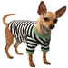 Crown Striped Dog Tee Shirt - hip-crownteeS-ZH2