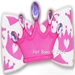 Dog Bows- Crowning Around Dog Hair Bow - hb-crowning