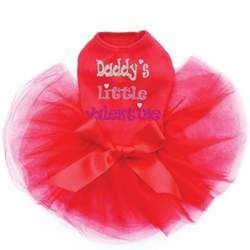 Daddys Little Valentine  Dog Tutu in 3 Colors  Roxy & Lulu, wooflink, susan lanci, dog clothes, small dog clothes, urban pup, pooch outfitters, dogo, hip doggie, doggie design, small dog dress, pet clotes, dog boutique. pet boutique, bloomingtails dog boutique, dog raincoat, dog rain coat, pet raincoat, dog shampoo, pet shampoo, dog bathrobe, pet bathrobe, dog carrier, small dog carrier, doggie couture, pet couture, dog football, dog toys, pet toys, dog clothes sale, pet clothes sale, shop local, pet store, dog store, dog chews, pet chews, worthy dog, dog bandana, pet bandana, dog halloween, pet halloween, dog holiday, pet holiday, dog teepee, custom dog clothes, pet pjs, dog pjs, pet pajamas, dog pajamas,dog sweater, pet sweater, dog hat, fabdog, fab dog, dog puffer coat, dog winter ja
