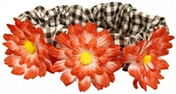 Daisy Scrunchies-Many colors dog bowls,susan lanci, puppia,wooflink, luxury dog boutique,tonimari,pet clothes, dog clothes, puppy clothes, pet store, dog store, puppy boutique store, dog boutique, pet boutique, puppy boutique, Bloomingtails, dog, small dog clothes, large dog clothes, large dog costumes, small dog costumes, pet stuff, Halloween dog, puppy Halloween, pet Halloween, clothes, dog puppy Halloween, dog sale, pet sale, puppy sale, pet dog tank, pet tank, pet shirt, dog shirt, puppy shirt,puppy tank, I see spot, dog collars, dog leads, pet collar, pet lead,puppy collar, puppy lead, dog toys, pet toys, puppy toy, dog beds, pet beds, puppy bed,  beds,dog mat, pet mat, puppy mat, fab dog pet sweater, dog sweater, dog winter, pet winter,dog raincoat, pet raincoat,