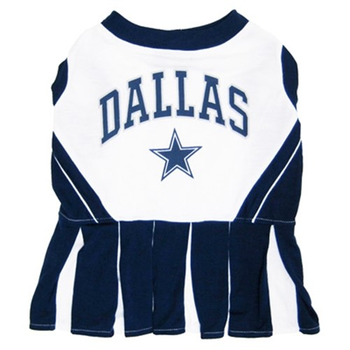 Dallas Cowboys Cheerleader Dog Dress - dn-daldress