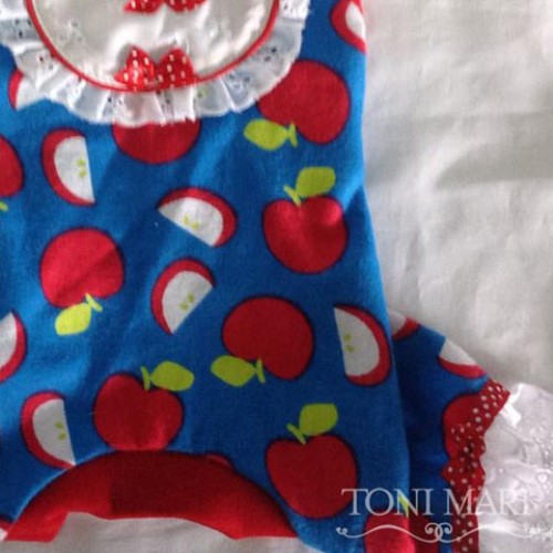 Delicious Apples Dog Pajamas  - tm-apples