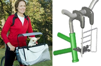 Deluxe Tagalong Pet Bicylce Basket/Carrier