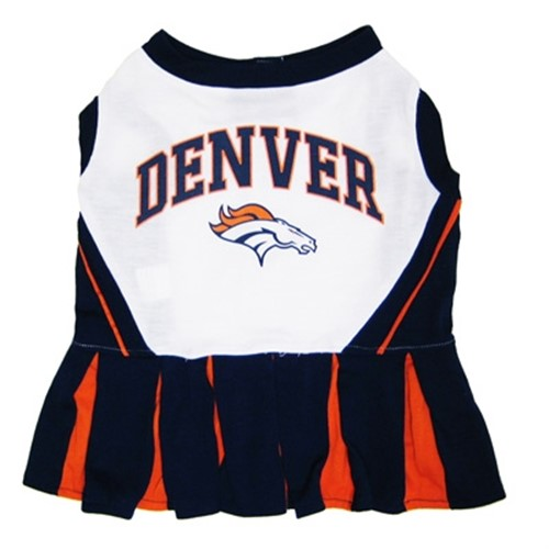 Denver Broncos Cheerleader Dog Dress - dn-denver-dress