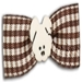 Dog Bows - Doggie Days in Red, Brown, and Neopolitan - hb-doggiedays