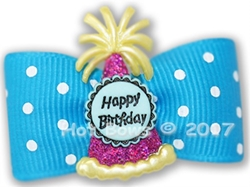 Dog Bows - Happy Birthday wooflink, susan lanci, dog clothes, small dog clothes, urban pup, pooch outfitters, dogo, hip doggie, doggie design, small dog dress, pet clotes, dog boutique. pet boutique, bloomingtails dog boutique, dog raincoat, dog rain coat, pet raincoat, dog shampoo, pet shampoo, dog bathrobe, pet bathrobe, dog carrier, small dog carrier, doggie couture, pet couture, dog football, dog toys, pet toys, dog clothes sale, pet clothes sale, shop local, pet store, dog store, dog chews, pet chews, worthy dog, dog bandana, pet bandana, dog halloween, pet halloween, dog holiday, pet holiday, dog teepee, custom dog clothes, pet pjs, dog pjs, pet pajamas, dog pajamas,dog sweater, pet sweater, dog hat, fabdog, fab dog, dog puffer coat, dog winter jacket, dog col
