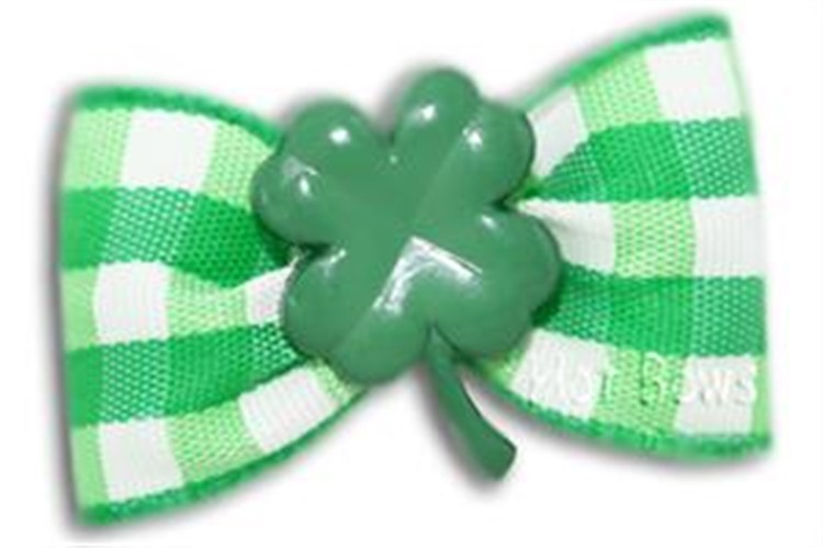Dog Bows - Lucky Dog - hb-luckyF-K7S