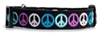 Dog Peace Collar -Black wooflink, susan lanci, dog clothes, small dog clothes, urban pup, pooch outfitters, dogo, hip doggie, doggie design, small dog dress, pet clotes, dog boutique. pet boutique, bloomingtails dog boutique, dog raincoat, dog rain coat, pet raincoat, dog shampoo, pet shampoo, dog bathrobe, pet bathrobe, dog carrier, small dog carrier, doggie couture, pet couture, dog football, dog toys, pet toys, dog clothes sale, pet clothes sale, shop local, pet store, dog store, dog chews, pet chews, worthy dog, dog bandana, pet bandana, dog halloween, pet halloween, dog holiday, pet holiday, dog teepee, custom dog clothes, pet pjs, dog pjs, pet pajamas, dog pajamas,dog sweater, pet sweater, dog hat, fabdog, fab dog, dog puffer coat, dog winter jacket