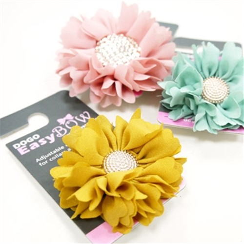EasyBow Collar Flower-Lots of Colors - dgo-easybow