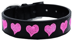 Embroidered Heart Collar  dog bowls,susan lanci, puppia,wooflink, luxury dog boutique,tonimari,pet clothes, dog clothes, puppy clothes, pet store, dog store, puppy boutique store, dog boutique, pet boutique, puppy boutique, Bloomingtails, dog, small dog clothes, large dog clothes, large dog costumes, small dog costumes, pet stuff, Halloween dog, puppy Halloween, pet Halloween, clothes, dog puppy Halloween, dog sale, pet sale, puppy sale, pet dog tank, pet tank, pet shirt, dog shirt, puppy shirt,puppy tank, I see spot, dog collars, dog leads, pet collar, pet lead,puppy collar, puppy lead, dog toys, pet toys, puppy toy, dog beds, pet beds, puppy bed,  beds,dog mat, pet mat, puppy mat, fab dog pet sweater, dog sweater, dog winter, pet winter,dog raincoat, pet raincoat