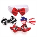 Every Occasion Dog Bow Tie Set (includes 4 bow ties) - dogdes-bowtie-set
