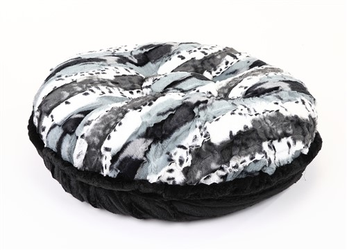 Exotic Black/White & Black Mink Round Dog Bed   pet clothes, dog clothes, puppy clothes, pet store, dog store, puppy boutique store, dog boutique, pet boutique, puppy boutique, Bloomingtails, dog, small dog clothes, large dog clothes, large dog costumes, small dog costumes, pet stuff, Halloween dog, puppy Halloween, pet Halloween, clothes, dog puppy Halloween, dog sale, pet sale, puppy sale, pet dog tank, pet tank, pet shirt, dog shirt, puppy shirt,puppy tank, I see spot, dog collars, dog leads, pet collar, pet lead,puppy collar, puppy lead, dog toys, pet toys, puppy toy, dog beds, pet beds, puppy bed,  beds,dog mat, pet mat, puppy mat, fab dog pet sweater, dog sweater, dog winter, pet winter,dog raincoat, pet raincoat, dog harness, puppy harness, pet harness, dog collar, dog lead, pet l