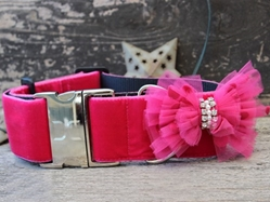 Extra Wide Bardot Dog Collar-Personalizable wooflink, susan lanci, dog clothes, small dog clothes, urban pup, pooch outfitters, dogo, hip doggie, doggie design, small dog dress, pet clotes, dog boutique. pet boutique, bloomingtails dog boutique, dog raincoat, dog rain coat, pet raincoat, dog shampoo, pet shampoo, dog bathrobe, pet bathrobe, dog carrier, small dog carrier, doggie couture, pet couture, dog football, dog toys, pet toys, dog clothes sale, pet clothes sale, shop local, pet store, dog store, dog chews, pet chews, worthy dog, dog bandana, pet bandana, dog halloween, pet halloween, dog holiday, pet holiday, dog teepee, custom dog clothes, pet pjs, dog pjs, pet pajamas, dog pajamas,dog sweater, pet sweater, dog hat, fabdog, fab dog, dog puffer coat, dog winter jacket, dog col