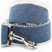 Extra Wide Blue Jean Baby Dog Collar-Personalizable   - diva-bjbaby