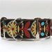 Extra Wide Mandala Star Collection Dog Collar-Personalizable-3 Choices - diva-mandala