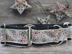 Extra Wide Pineberry Dog Collar-Personalizable  wooflink, susan lanci, dog clothes, small dog clothes, urban pup, pooch outfitters, dogo, hip doggie, doggie design, small dog dress, pet clotes, dog boutique. pet boutique, bloomingtails dog boutique, dog raincoat, dog rain coat, pet raincoat, dog shampoo, pet shampoo, dog bathrobe, pet bathrobe, dog carrier, small dog carrier, doggie couture, pet couture, dog football, dog toys, pet toys, dog clothes sale, pet clothes sale, shop local, pet store, dog store, dog chews, pet chews, worthy dog, dog bandana, pet bandana, dog halloween, pet halloween, dog holiday, pet holiday, dog teepee, custom dog clothes, pet pjs, dog pjs, pet pajamas, dog pajamas,dog sweater, pet sweater, dog hat, fabdog, fab dog, dog puffer coat, dog winter jacket, dog col