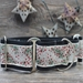 Extra Wide Pineberry Dog Collar-Personalizable  - diva-pineberry
