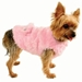 Fabulous Dog Coat in Pink or Black - rrc-fabulousB-QMK