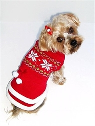 Fair Isle Red Sweater Dress puppy bed,  beds,dog mat, pet mat, puppy mat, fab dog pet sweater, dog swepet clothes, dog clothes, puppy clothes, pet store, dog store, puppy boutique store, dog boutique, pet boutique, puppy boutique, Bloomingtails, dog, small dog clothes, large dog clothes, large dog costumes, small dog costumes, pet stuff, Halloween dog, puppy Halloween, pet Halloween, clothes, dog puppy Halloween, dog sale, pet sale, puppy sale, pet dog tank, pet tank, pet shirt, dog shirt, puppy shirt,puppy tank, I see spot, dog collars, dog leads, pet collar, pet lead,puppy collar, puppy lead, dog toys, pet toys, puppy toy, dog beds, pet beds, puppy bed,  beds,dog mat, pet mat, puppy mat, fab dog pet sweater, dog sweater, dog winter, pet winter,dog raincoat, pet rain
