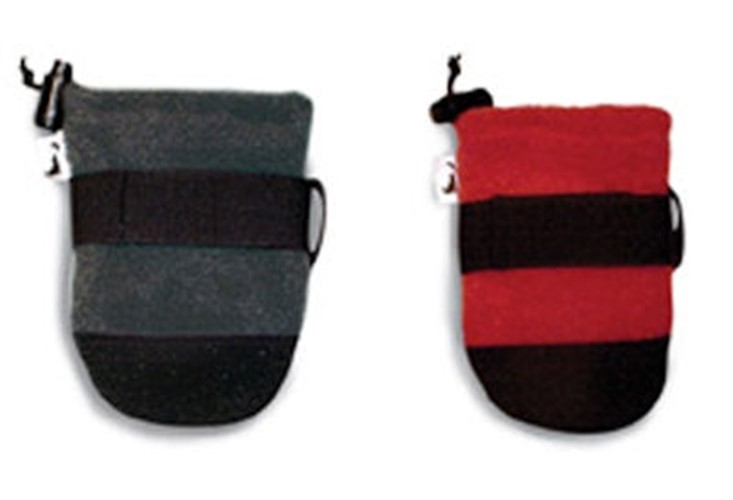 Fido Fleece Dog Boots - Black or Red