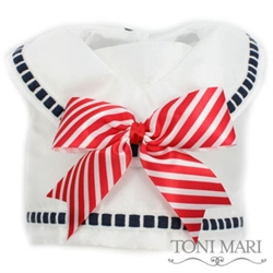 First Mate Harness Vest  - Red, White & Blue