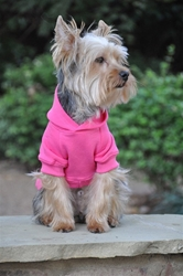 Flex-Fit Dog Hoodie - Pink Roxy & Lulu, wooflink, susan lanci, dog clothes, small dog clothes, urban pup, pooch outfitters, dogo, hip doggie, doggie design, small dog dress, pet clotes, dog boutique. pet boutique, bloomingtails dog boutique, dog raincoat, dog rain coat, pet raincoat, dog shampoo, pet shampoo, dog bathrobe, pet bathrobe, dog carrier, small dog carrier, doggie couture, pet couture, dog football, dog toys, pet toys, dog clothes sale, pet clothes sale, shop local, pet store, dog store, dog chews, pet chews, worthy dog, dog bandana, pet bandana, dog halloween, pet halloween, dog holiday, pet holiday, dog teepee, custom dog clothes, pet pjs, dog pjs, pet pajamas, dog pajamas,dog sweater, pet sweater, dog hat, fabdog, fab dog, dog puffer coat, dog winter ja