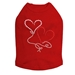 Floating Hearts Dog Shirt in Many Colors  - dic-floathearts