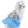 Floral Braided Tank Dress - Truly Oscar wooflink, susan lanci, dog clothes, small dog clothes, urban pup, pooch outfitters, dogo, hip doggie, doggie design, small dog dress, pet clotes, dog boutique. pet boutique, bloomingtails dog boutique, dog raincoat, dog rain coat, pet raincoat, dog shampoo, pet shampoo, dog bathrobe, pet bathrobe, dog carrier, small dog carrier, doggie couture, pet couture, dog football, dog toys, pet toys, dog clothes sale, pet clothes sale, shop local, pet store, dog store, dog chews, pet chews, worthy dog, dog bandana, pet bandana, dog halloween, pet halloween, dog holiday, pet holiday, dog teepee, custom dog clothes, pet pjs, dog pjs, pet pajamas, dog pajamas,dog sweater, pet sweater, dog hat, fabdog, fab dog, dog puffer coat, dog winter jacket, dog col