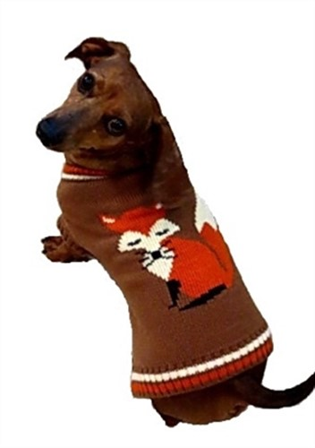 Foxy Dog Sweater - daldog-foxy