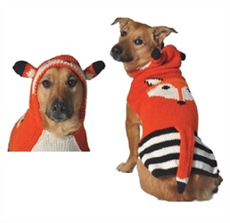 Foxy Hoodie Dog Sweater      dog bowls,susan lanci, puppia,wooflink, luxury dog boutique,tonimari,pet clothes, dog clothes, puppy clothes, pet store, dog store, puppy boutique store, dog boutique, pet boutique, puppy boutique, Bloomingtails, dog, small dog clothes, large dog clothes, large dog costumes, small dog costumes, pet stuff, Halloween dog, puppy Halloween, pet Halloween, clothes, dog puppy Halloween, dog sale, pet sale, puppy sale, pet dog tank, pet tank, pet shirt, dog shirt, puppy shirt,puppy tank, I see spot, dog collars, dog leads, pet collar, pet lead,puppy collar, puppy lead, dog toys, pet toys, puppy toy, dog beds, pet beds, puppy bed,  beds,dog mat, pet mat, puppy mat, fab dog pet sweater, dog sweater, dog winter, pet winter,dog raincoat, pet raincoat