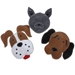 Frosty Grey Frenchie Dog Toy - doog-frenchie