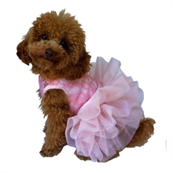 Fufu Tutu Dog Dress in Various Colors