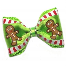 Gingerbread Man Dog Hair Bow wooflink, susan lanci, dog clothes, small dog clothes, urban pup, pooch outfitters, dogo, hip doggie, doggie design, small dog dress, pet clotes, dog boutique. pet boutique, bloomingtails dog boutique, dog raincoat, dog rain coat, pet raincoat, dog shampoo, pet shampoo, dog bathrobe, pet bathrobe, dog carrier, small dog carrier, doggie couture, pet couture, dog football, dog toys, pet toys, dog clothes sale, pet clothes sale, shop local, pet store, dog store, dog chews, pet chews, worthy dog, dog bandana, pet bandana, dog halloween, pet halloween, dog holiday, pet holiday, dog teepee, custom dog clothes, pet pjs, dog pjs, pet pajamas, dog pajamas,dog sweater, pet sweater, dog hat, fabdog, fab dog, dog puffer coat, dog winter jacket, dog col