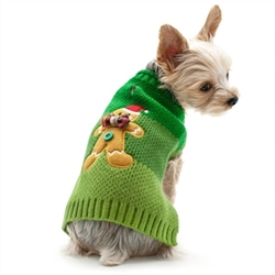 Gingerbread Man Dog Sweater  puppy bed,  beds,dog mat, pet mat, puppy mat, fab dog pet sweater, dog swepet clothes, dog clothes, puppy clothes, pet store, dog store, puppy boutique store, dog boutique, pet boutique, puppy boutique, Bloomingtails, dog, small dog clothes, large dog clothes, large dog costumes, small dog costumes, pet stuff, Halloween dog, puppy Halloween, pet Halloween, clothes, dog puppy Halloween, dog sale, pet sale, puppy sale, pet dog tank, pet tank, pet shirt, dog shirt, puppy shirt,puppy tank, I see spot, dog collars, dog leads, pet collar, pet lead,puppy collar, puppy lead, dog toys, pet toys, puppy toy, dog beds, pet beds, puppy bed,  beds,dog mat, pet mat, puppy mat, fab dog pet sweater, dog sweater, dog winter, pet winter,dog raincoat, pet rain